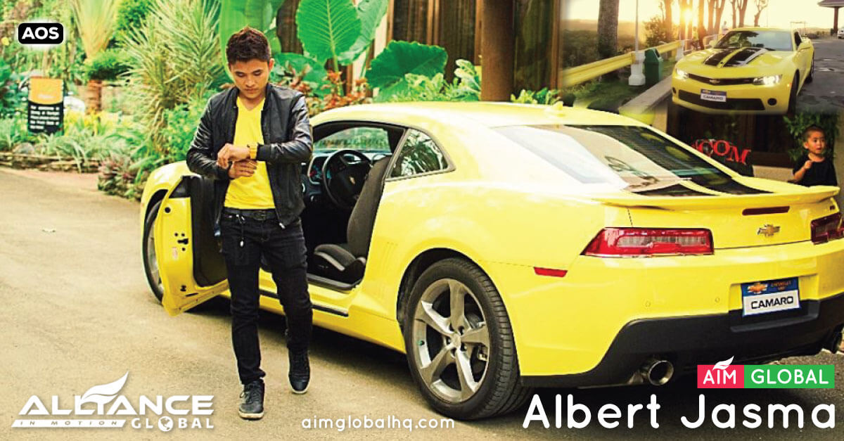 Albert Jasma – Young Millionaire – AIM Global Success Story
