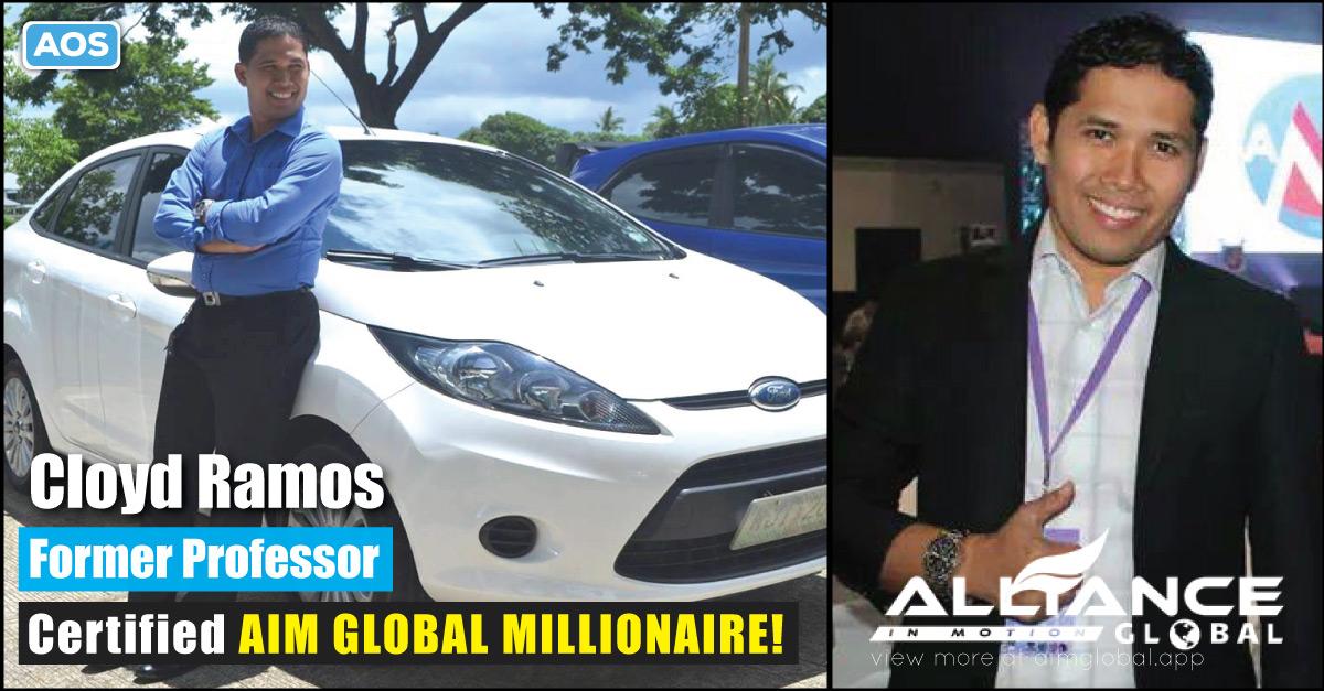 Former Professor Cloyd Ramos – AIM Global Success Story