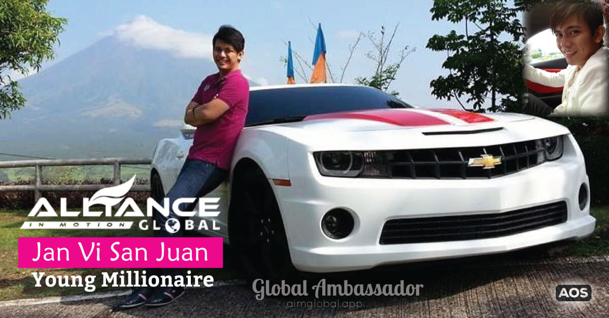 Jan Vi San Juan – Young Millionaire – AIM Global Success Story