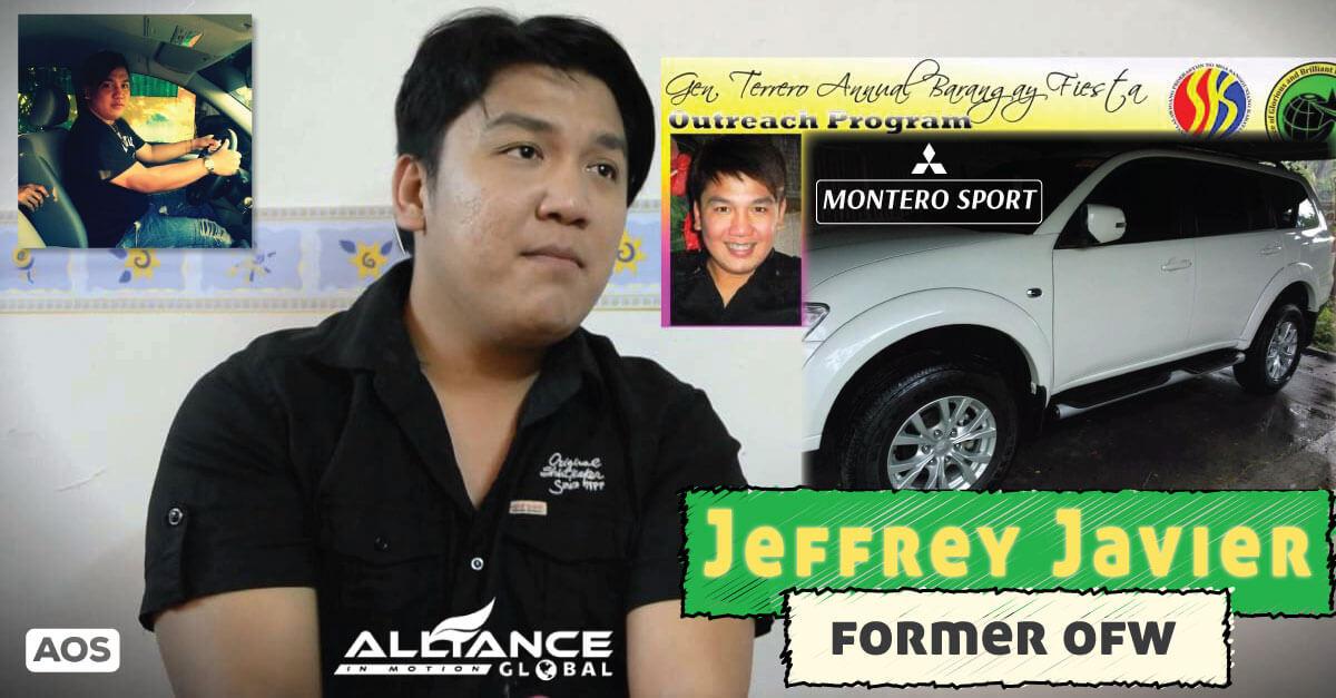 Former OFW Jeffrey Javier – AIM Global Success Story