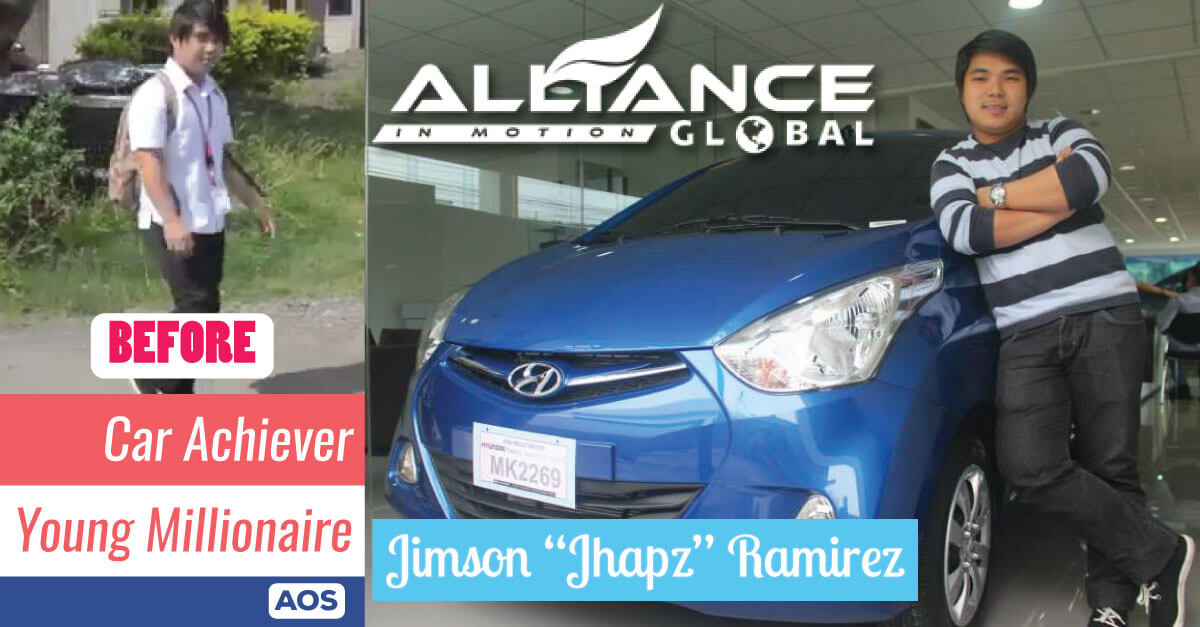 Jhapz Ramirez – Young Millionaire – AIM Global Success Story