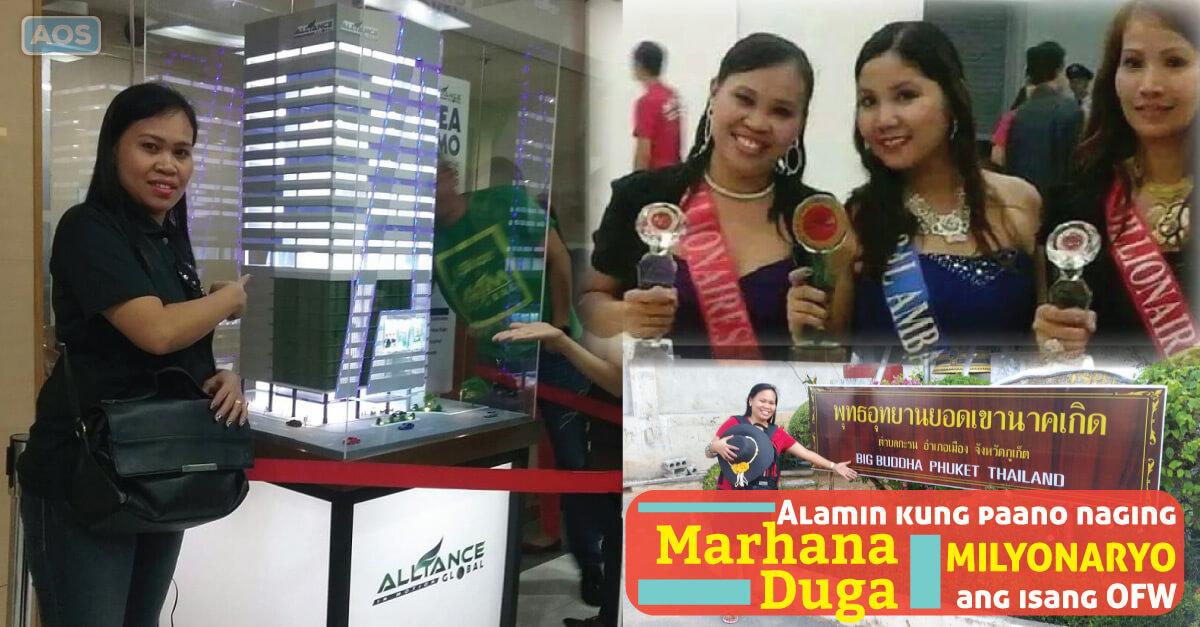 Marhana Duga Former OFW – AIM Global Success Story