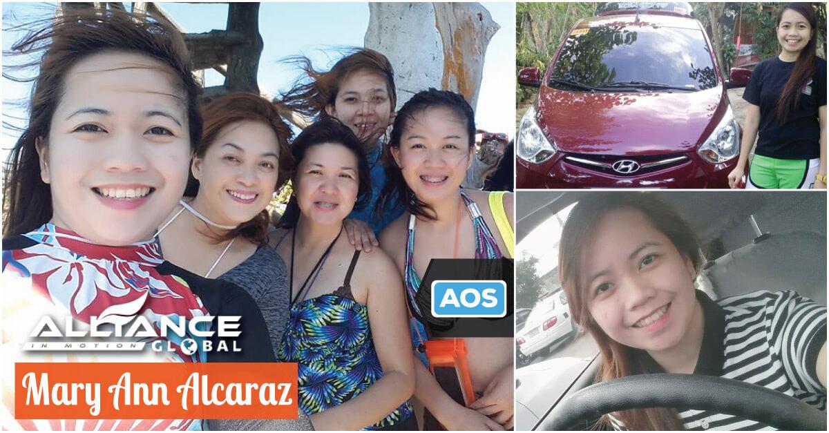 Mary Ann Alcaraz Former Call Center Agent – AIM Global Success Story