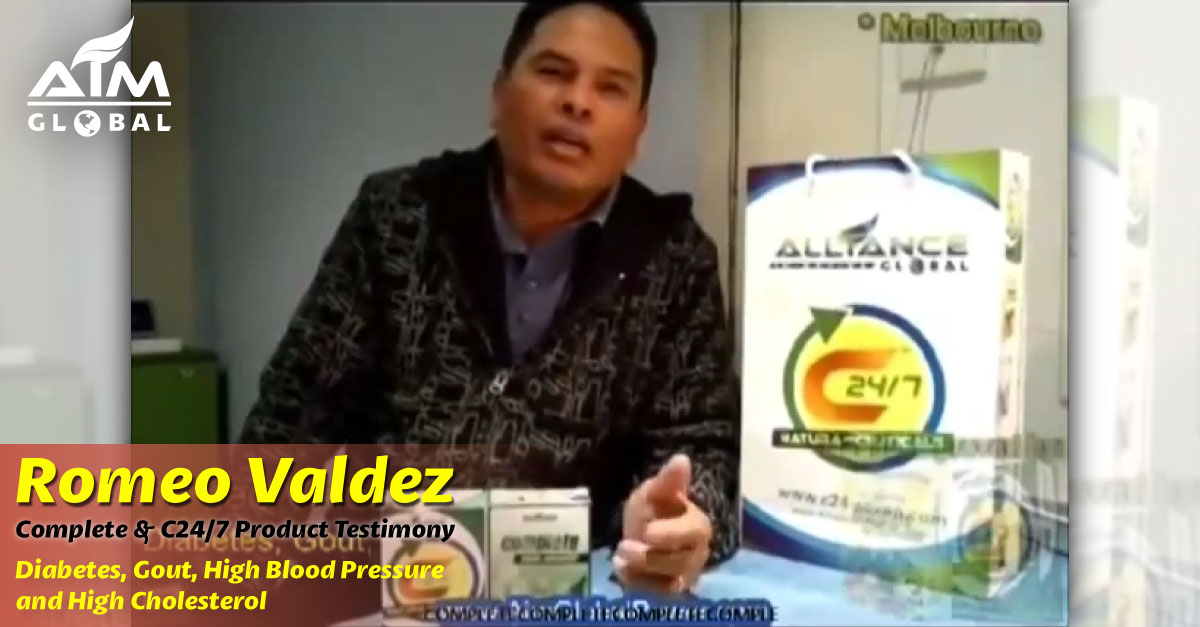 This Product saved me from my Diabetes, High Blood Pressure, High Cholesterol and Gout