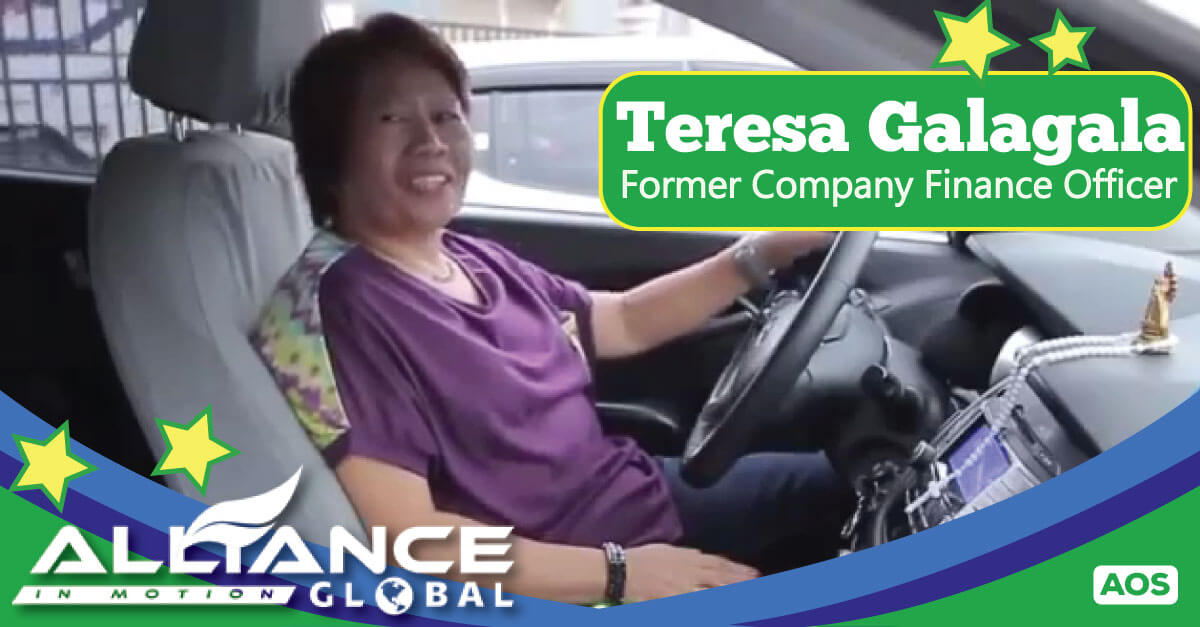 Former Company Finance Officer Teresa Galagala – AIM Global Success Story